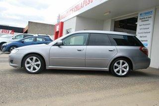 2008 Subaru Liberty MY08 2.5I Silver 4 Speed Auto Elec Sportshift Wagon.