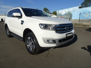 2020 Ford Everest UA II 2020.75MY Trend Arctic White 10 Speed Sports Automatic SUV