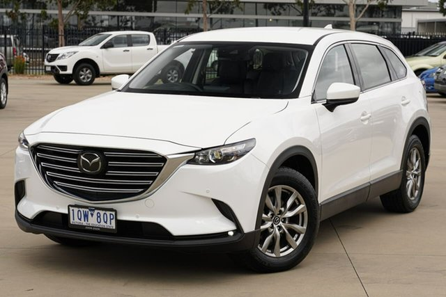 Used Mazda CX-9 TC Touring SKYACTIV-Drive Narre Warren, 2019 Mazda CX-9 TC Touring SKYACTIV-Drive White 6 Speed Sports Automatic Wagon