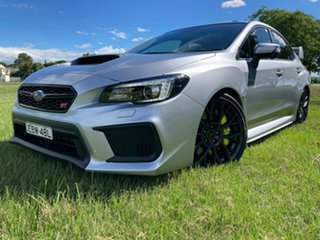 2019 Subaru WRX V1 MY20 STI AWD Silver 6 Speed Manual Sedan.
