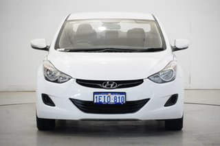 2013 Hyundai Elantra MD2 Active Creamy White 6 Speed Sports Automatic Sedan.