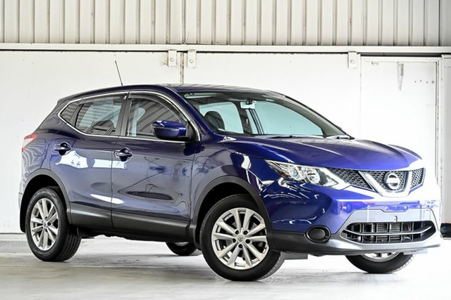 Used Nissan Qashqai J11 ST Laverton North, 2016 Nissan Qashqai J11 ST Blue 1 Speed Constant Variable Wagon
