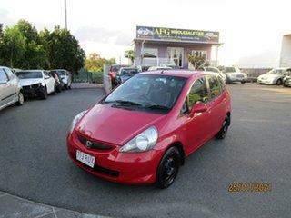 2006 Honda Jazz Upgrade GLi Red 5 Speed Manual Hatchback.