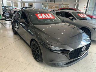 2020 Mazda 3 BP2HLA G25 SKYACTIV-Drive Astina Machine Grey 6 Speed Sports Automatic Hatchback.