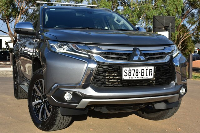 Used Mitsubishi Pajero Sport QE MY16 GLS St Marys, 2015 Mitsubishi Pajero Sport QE MY16 GLS Grey 8 Speed Sports Automatic Wagon