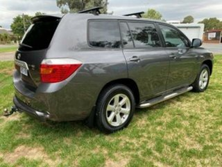 2009 Toyota Kluger GSU40R KX-R (FWD) 7 Seat Graphite 5 Speed Automatic Wagon