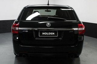 2016 Holden Commodore VF II MY16 SV6 Sportwagon Black Black 6 Speed Sports Automatic Wagon