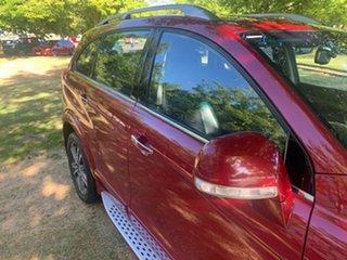 2016 Holden Captiva CG MY17 LTZ AWD Red 6 Speed Sports Automatic Wagon