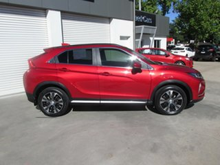 2017 Mitsubishi Eclipse Cross YA MY18 LS 2WD Red 8 Speed Constant Variable Wagon.