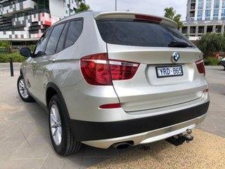 2011 BMW X3 F25 MY1011 xDrive20d Steptronic Gold 8 Speed Automatic Wagon