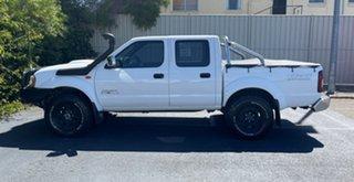 2009 Nissan Navara D22 MY2008 ST-R White 5 Speed Manual Utility