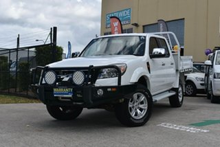 2010 Ford Ranger PK XLT (4x4) White 5 Speed Automatic Dual Cab Pick-up.