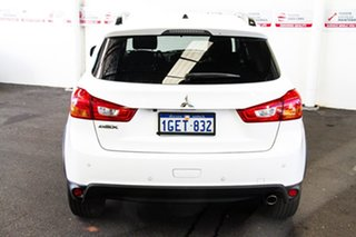 2016 Mitsubishi ASX XB MY15.5 LS (2WD) White Continuous Variable Wagon