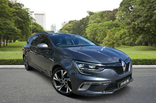 2017 Renault Megane KFB GT EDC Grey 7 Speed Sports Automatic Dual Clutch Wagon.