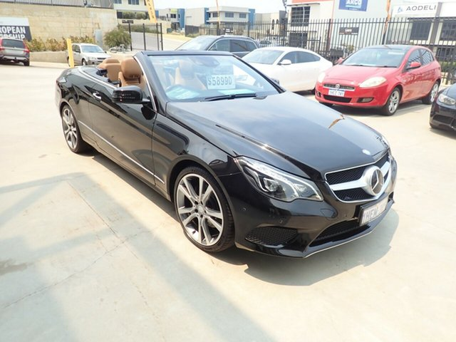 Used Mercedes-Benz E250 207 MY13 Wangara, 2013 Mercedes-Benz E250 207 MY13 Black Magic 7 Speed Automatic Cabriolet