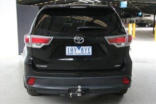 2016 Toyota Kluger GSU55R GX (4x4) Eclipse Black 6 Speed Automatic Wagon