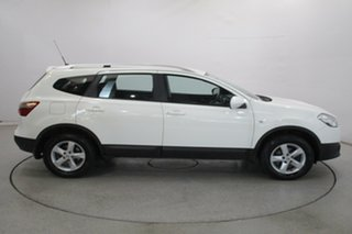 2013 Nissan Dualis J107 Series 3 MY12 +2 Hatch X-tronic 2WD ST White 6 Speed Constant Variable