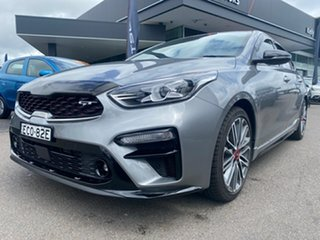 2019 Kia Cerato BD MY19 GT DCT Grey 7 Speed Sports Automatic Dual Clutch Hatchback.