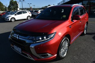 2019 Mitsubishi Outlander ZL MY19 PHEV AWD Exceed Red/Black 1 Speed Automatic Wagon Hybrid