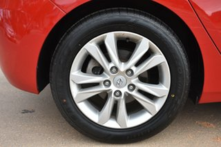 2012 Hyundai i30 GD Elite Red 6 Speed Manual Hatchback