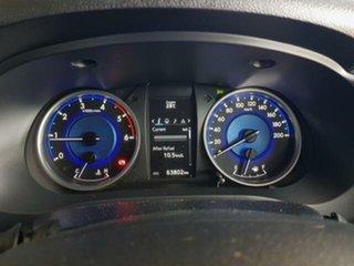 2016 Toyota Hilux GUN126R SR5 Double Cab Glacier White 6 Speed Manual Utility