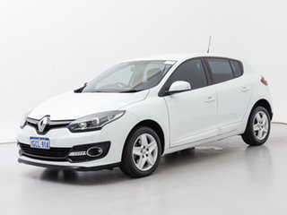 2015 Renault Megane B95 MY14 Authentique White 6 Speed Automatic Hatchback.