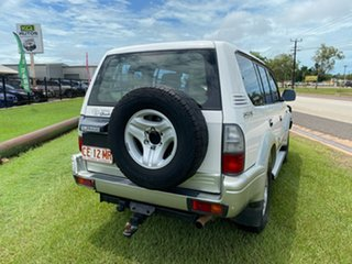2000 Toyota Landcruiser Prado VZJ95R Grande White 4 Speed Automatic Wagon