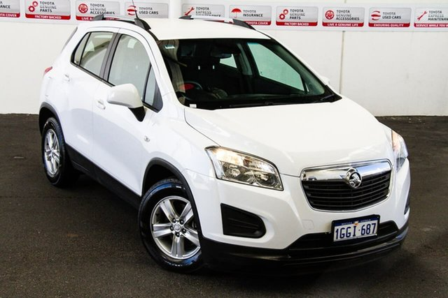 Pre-Owned Holden Trax TJ LS Myaree, 2014 Holden Trax TJ LS White 6 Speed Automatic Wagon