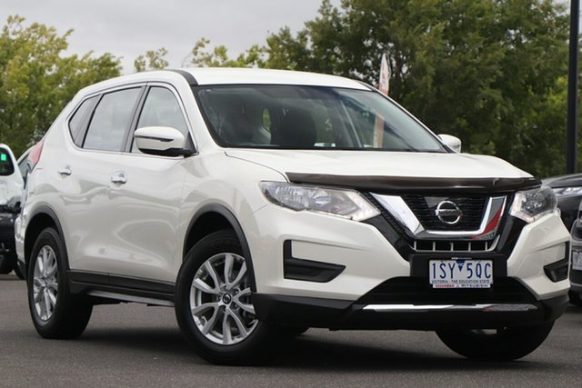 Used Nissan X-Trail T32 Series II ST X-tronic 4WD Essendon North, 2018 Nissan X-Trail T32 Series II ST X-tronic 4WD Ivory Pearl 7 Speed Constant Variable Wagon