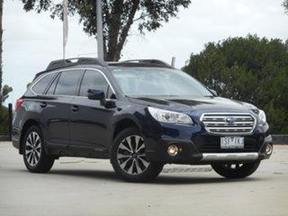 2017 Subaru Outback B6A MY17 2.5i CVT AWD Blue 6 Speed Constant Variable Wagon.
