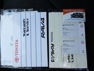 2011 Toyota RAV4 ACA38R MY11 CV 4x2 Silver 5 Speed Manual Wagon