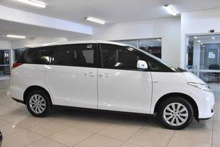 2009 Toyota Tarago ACR50R MY09 GLi White 4 Speed Sports Automatic Wagon.