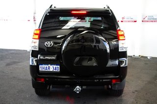 2011 Toyota Landcruiser Prado KDJ150R 11 Upgrade VX (4x4) Ebony 5 Speed Sequential Auto Wagon