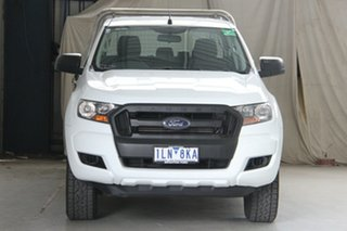 2017 Ford Ranger PX MkII MY17 XL 2.2 Hi-Rider (4x2) White 6 Speed Automatic Crew Cab Chassis