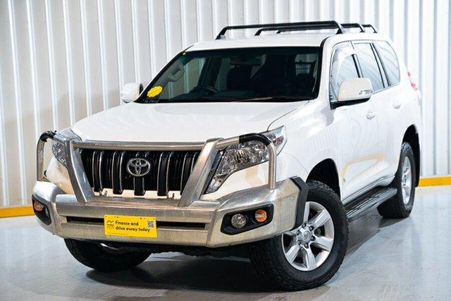 Used Toyota Landcruiser Prado GDJ150R MY16 GXL (4x4) Hendra, 2016 Toyota Landcruiser Prado GDJ150R MY16 GXL (4x4) White 6 Speed Automatic Wagon