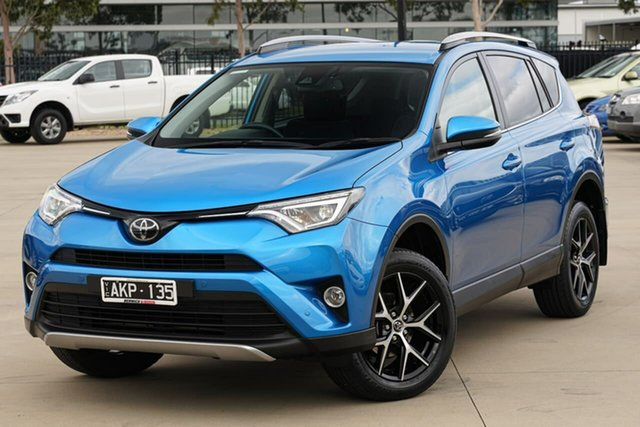 Used Toyota RAV4 ASA44R GXL AWD Narre Warren, 2016 Toyota RAV4 ASA44R GXL AWD Blue 6 Speed Sports Automatic Wagon