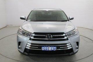 2018 Toyota Kluger GSU55R Grande AWD Chrome 8 Speed Sports Automatic Wagon.
