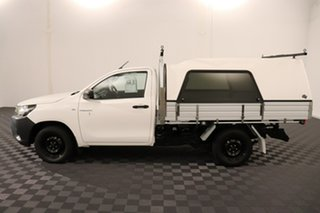 2016 Toyota Hilux GUN122R Workmate 4x2 White 5 speed Manual Cab Chassis