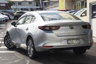 2020 Mazda 3 BP2S7A G20 SKYACTIV-Drive Evolve Silver 6 Speed Sports Automatic Sedan.