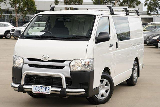 Used Toyota HiAce KDH201R LWB Narre Warren, 2018 Toyota HiAce KDH201R LWB White 4 Speed Automatic Van