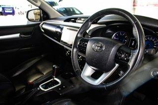 2017 Toyota Hilux GUN126R TRD White (4x4) Glacier White 6 Speed Automatic Dual Cab Utility