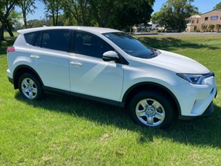 2017 Toyota RAV4 ZSA42R GX 2WD Glacier White 7 Speed Constant Variable Wagon