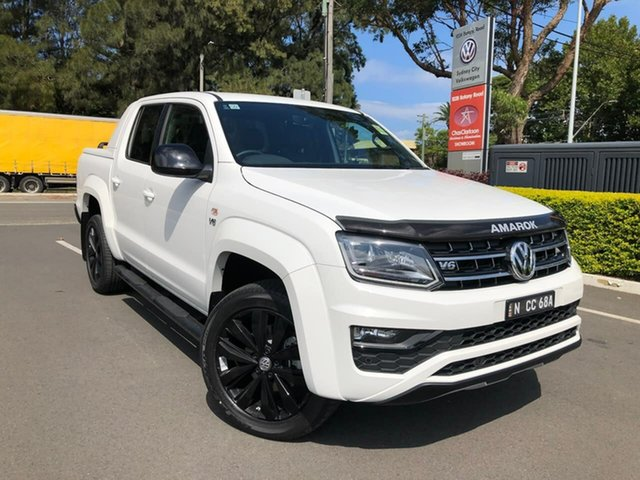 Demo Volkswagen Amarok 2H MY20 TDI580SE 4MOTION Perm Botany, 2020 Volkswagen Amarok 2H MY20 TDI580SE 4MOTION Perm White 8 Speed Automatic Utility