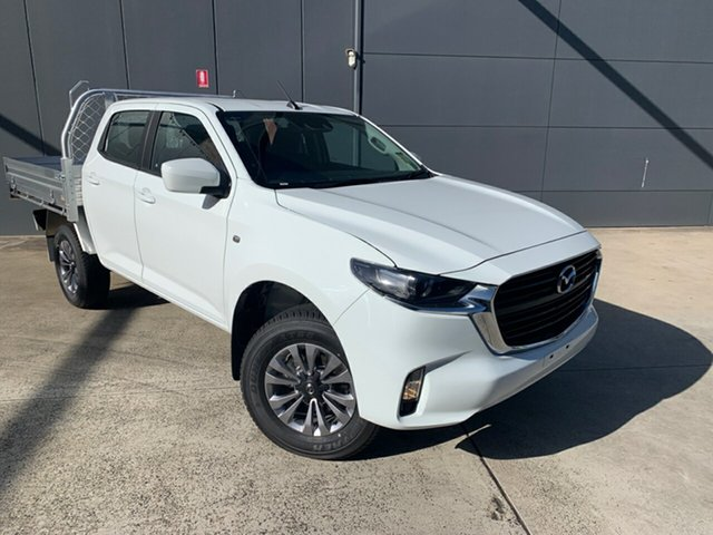 New Mazda BT-50 TFS40J XT Alexandria, 2020 Mazda BT-50 TFS40J XT Ice White 6 Speed Sports Automatic Cab Chassis