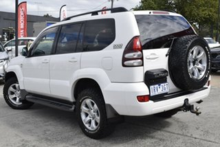 2007 Toyota Landcruiser Prado KDJ120R GXL White 5 Speed Automatic Wagon