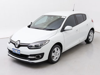 2015 Renault Megane B95 MY14 Authentique White 6 Speed Automatic Hatchback
