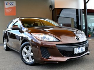 2011 Mazda 3 BL10F2 Neo Activematic Brown 5 Speed Sports Automatic Hatchback.