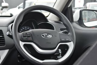 2017 Kia Picanto TA MY17 SI White 4 Speed Automatic Hatchback
