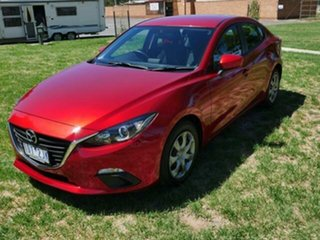 2014 Mazda 3 BM Neo Red 6 Speed Automatic Sedan.
