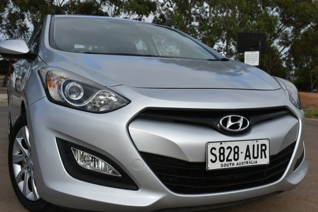 Used Hyundai i30 GD Active St Marys, 2012 Hyundai i30 GD Active Silver 6 Speed Sports Automatic Hatchback